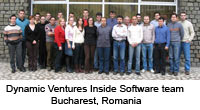 Dynamic Ventures Inside Software team in Bucharest, Romania